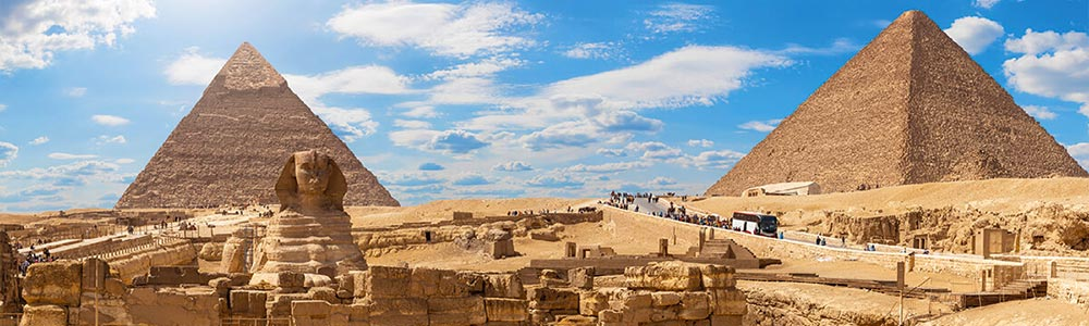 Day One:Fly to Cairo - Visit the Pyramids of Giza