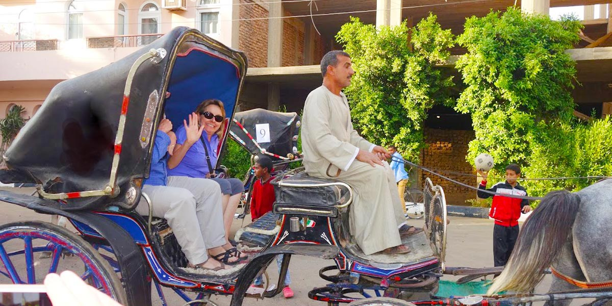 Horse Carriage - Things to do in Luxor - Egypt Tours Portal