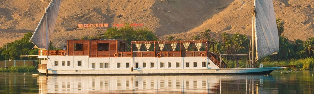 The Itinerary of 8 Days Dahabiya Nile Cruise from Luxor